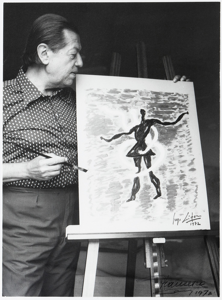 Serge Lifar as an artist.
