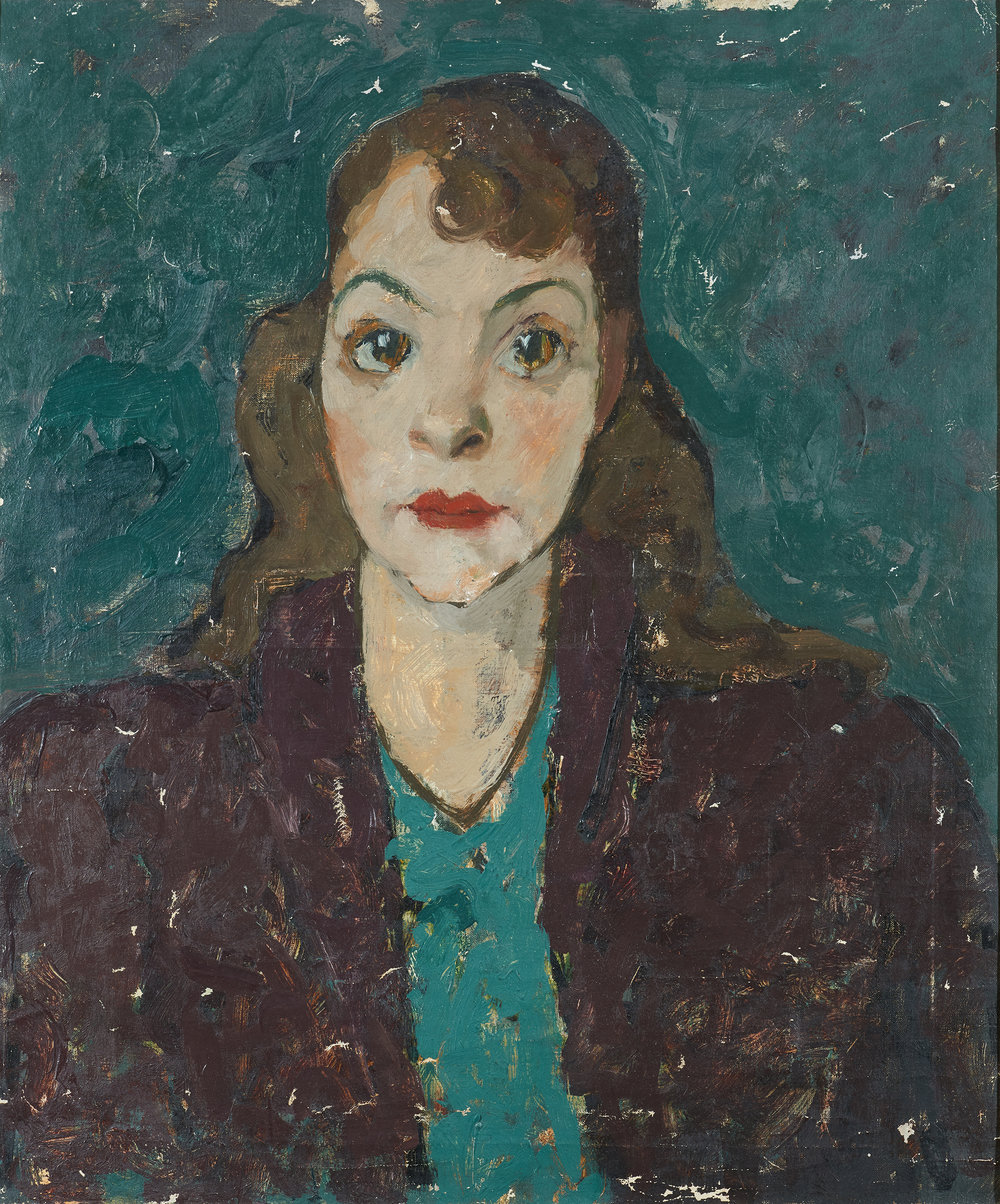 Chapiro Jacques (1887 - 1972)    Portrait of a Woman (circa 1940) Oil on canvas 55 x 46 cm