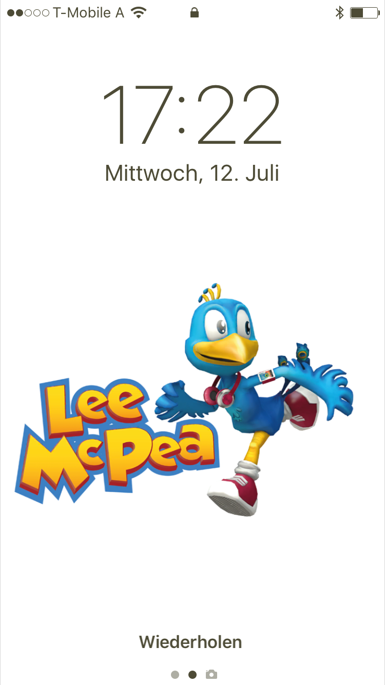 Lee McPea Wallpaper auf iOS