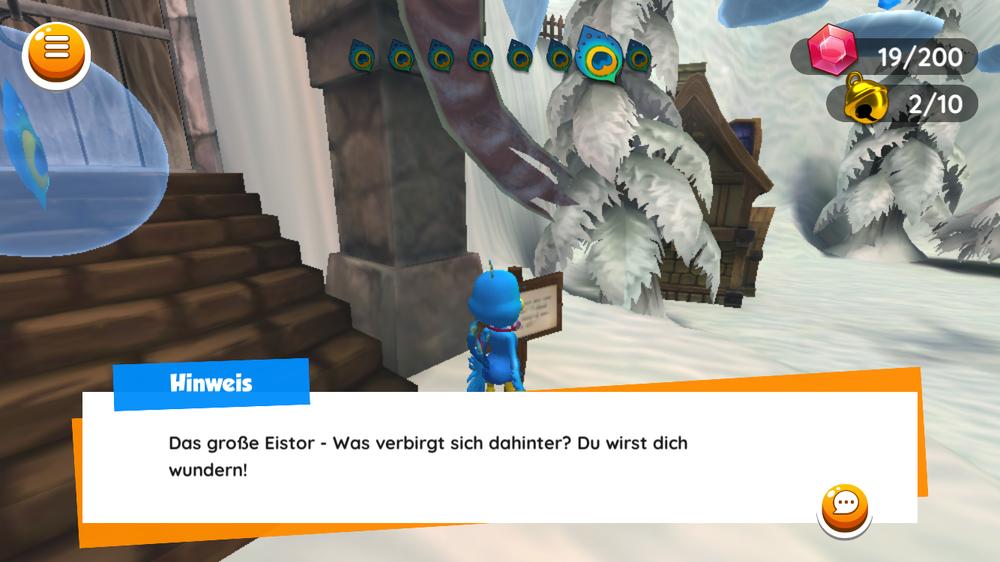 Beta-Version: Finde immer wieder neue Spielinhalte.