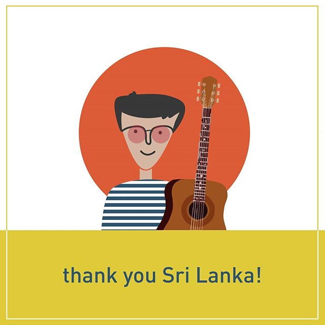 Like all things awesome the #SriLankaTour comes to an end. 9 concerts and 3 workshops = a truly energizing form of exhaustion.  A huge thanks to all the listeners, fellow artists, organizers, participating institutions, and most importantly everyone that offered such warm hospitality on the way.  Will share pics.  Will be back.  Promise.