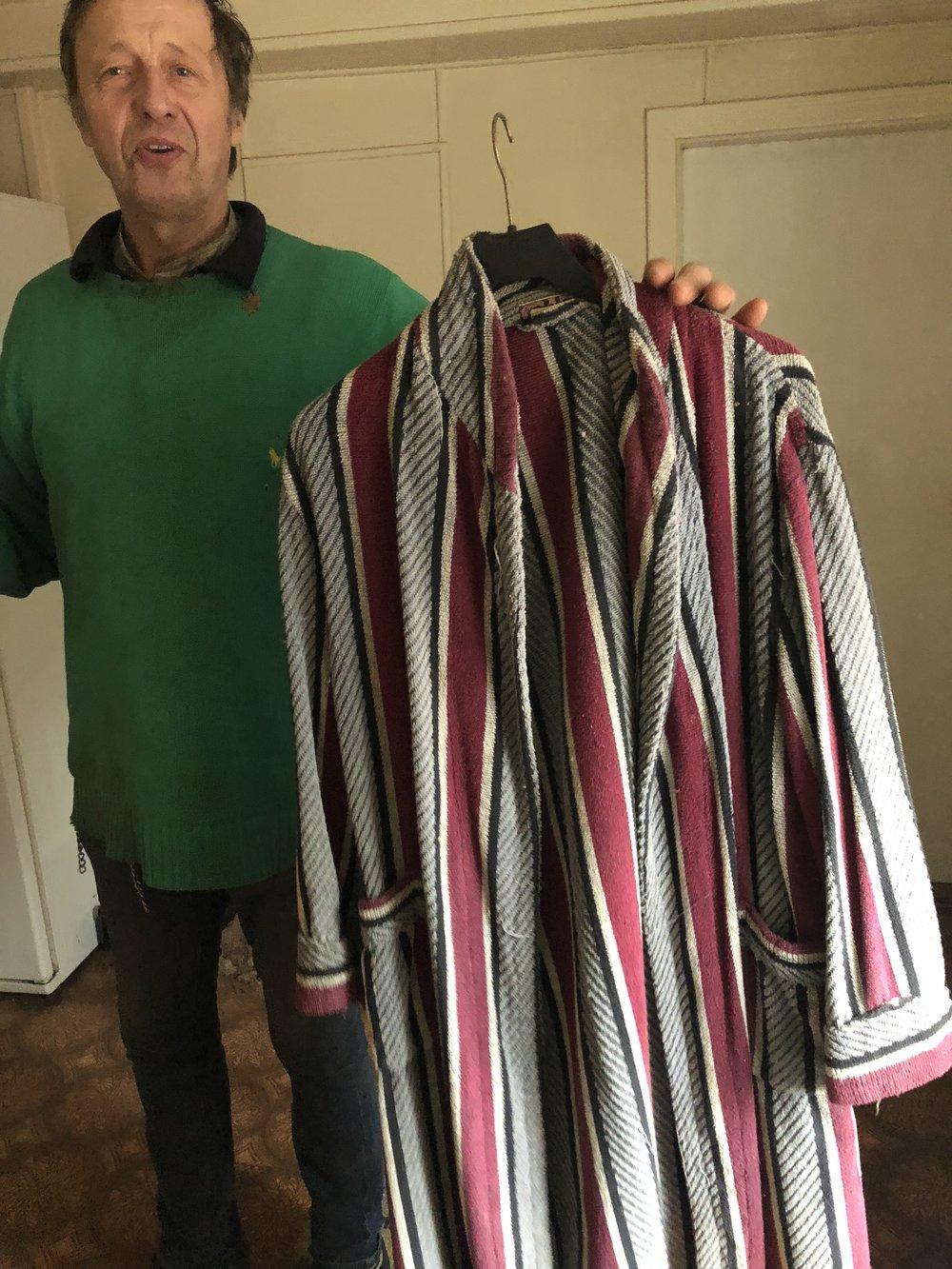 Dan med sin gamla badrock