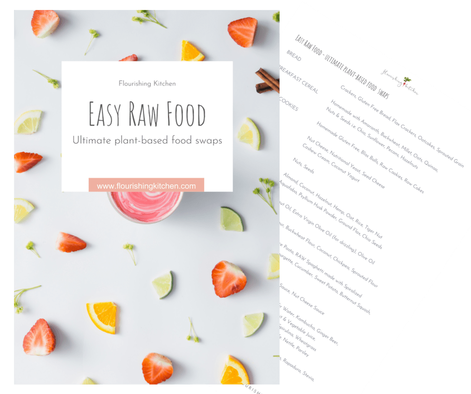 My Ultimate Cheat Sheet - Plant-Based Food Swaps to upgrade your recipes