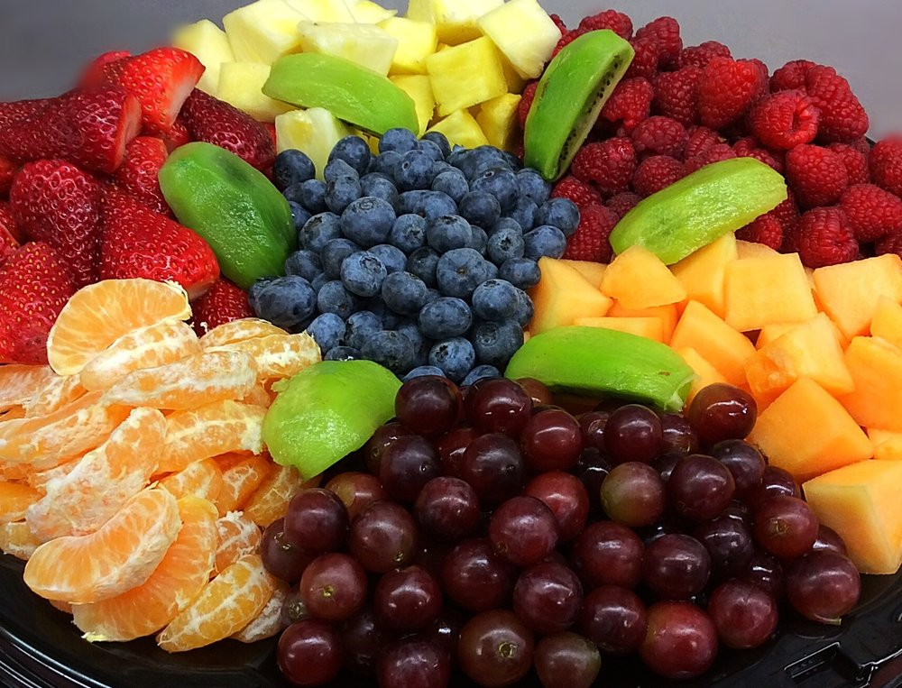 NOTE: OUR FRUIT TRAY AVAILABILITY CAN VARY BY SEASON. PLEASE CALL FOR PRICING. -