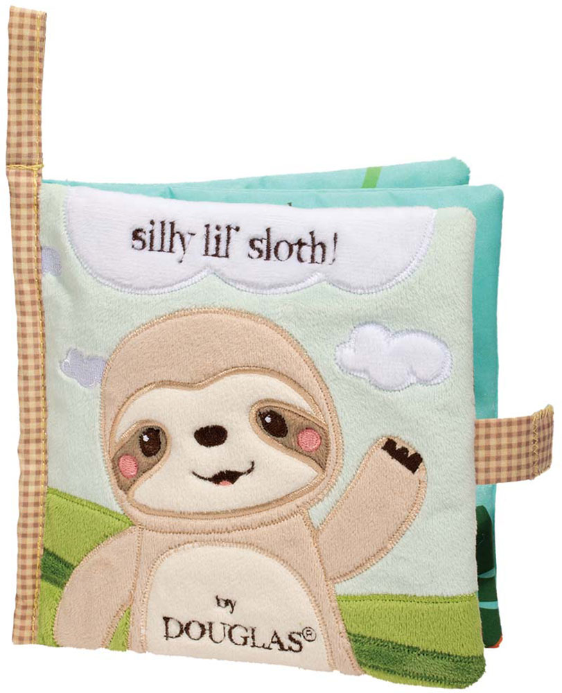 Lil' Sloth Activity Cloth Book