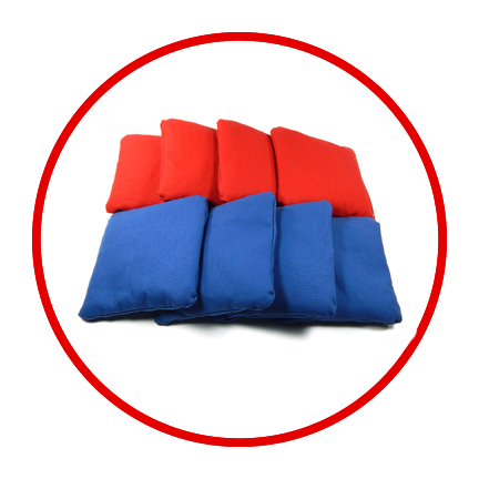 The best cornhole bags on the market. From our Standard Cornhole Bags to our Dual Sided Stick n Slick Cornhole Bags.