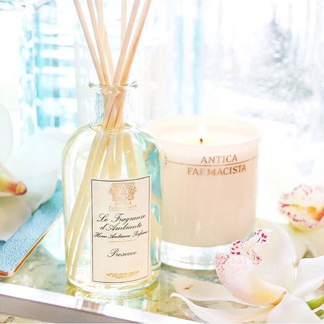 Sundays and prosecco go hand and hand like this @anticafarmacista scent in your home 🍾 Try it for yourself this weekend at 1210 Third Avenue! . . . . #mygracioushome #anticafarmacista #prosecco #sundayfunday #sunday #brunch #homefragrance #scent #flowerstagram #flowers #floral #homedecor #homedesign #homestyling #interiordesign #inspiration