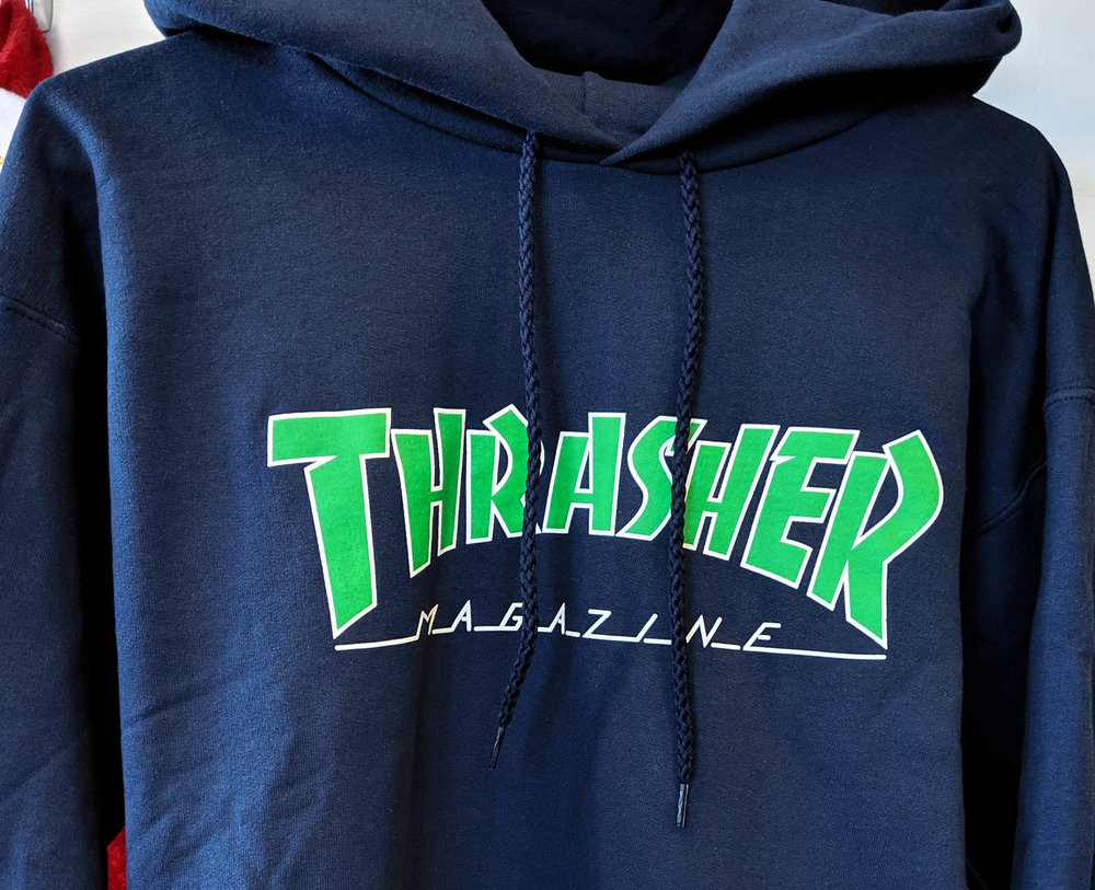 Thrasher - Core shop exclusive green on blue!