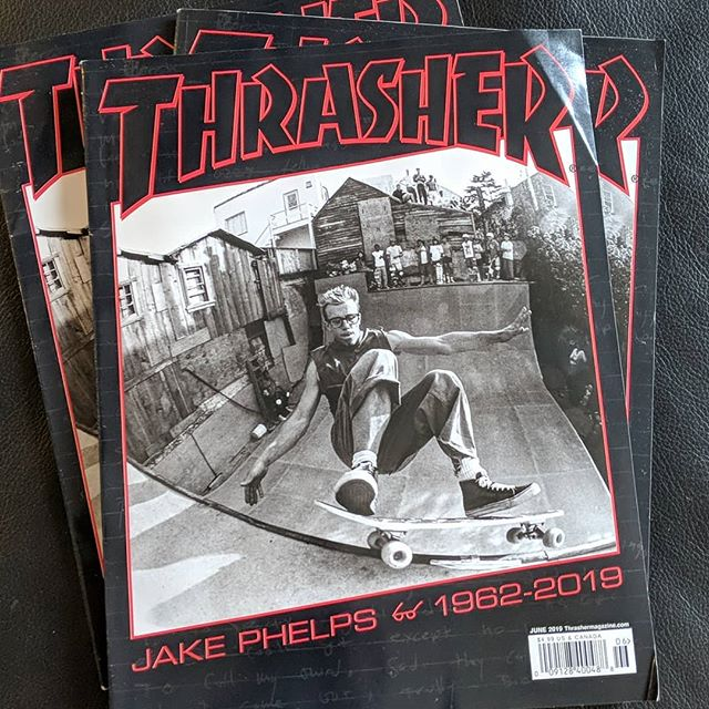 Shop @thrashermag subscription hasn't run out yet so I'll be hiding some of these copies of the #phelper tribute out for people... pretty emotional one, might get some of my dried tears with it. Spot info to come.