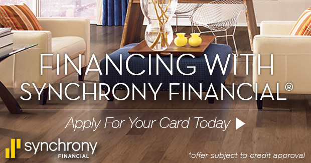 Synchrony Financing with Mouery's Flooring