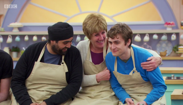 Tom can hardly believe he's star baker.