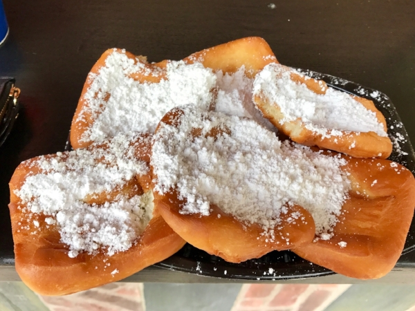 These beignets were BEYOND.