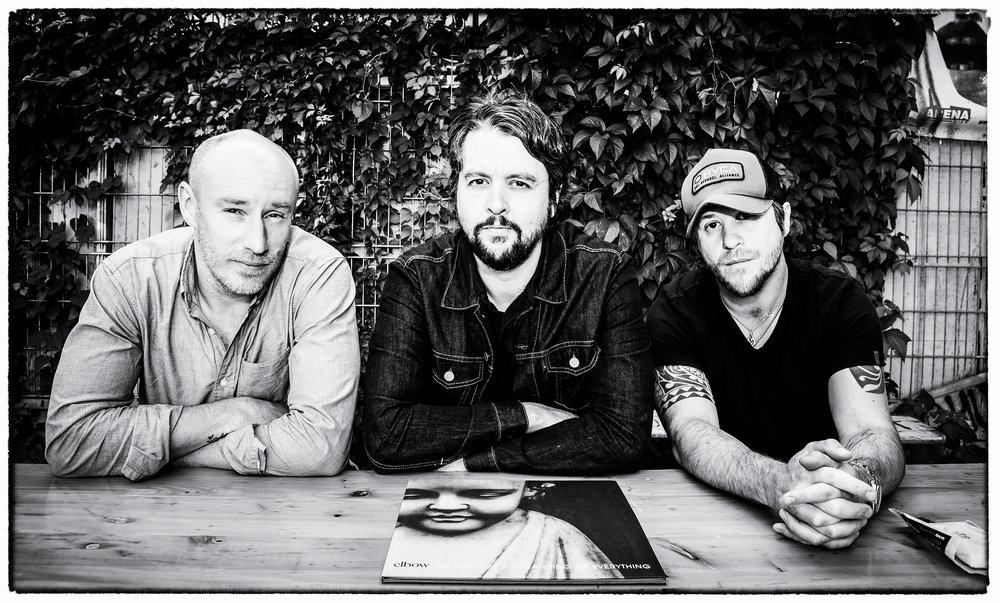 ELBOW (Richard Jupp, Craig Potter & Mark Potter), Vienna, 2014