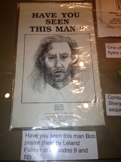 Prop -- Police Poster for locating Bob