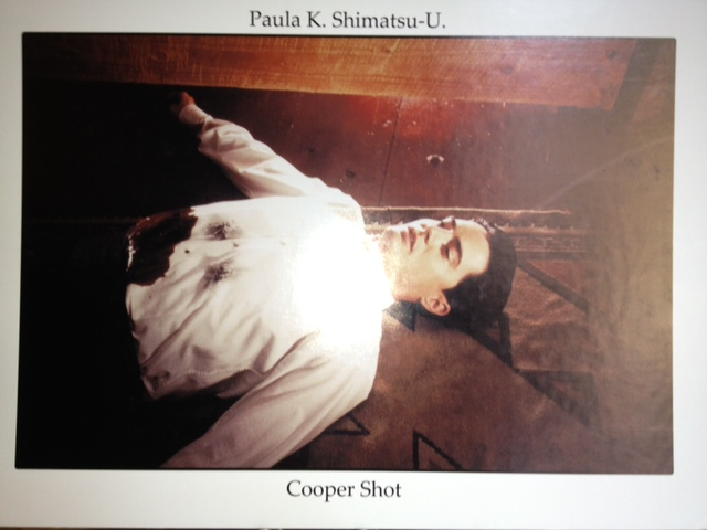 Image of Dale Cooper (Kyle MacLachlan) shot.