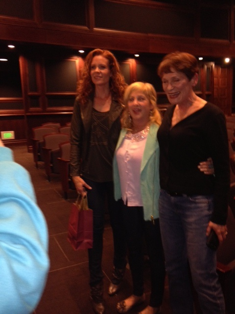 "The lovely ladies of ""Twin Peaks,"" Robyn Lively, Kimmy Robertson and Wendy Robie (Lana, Lucy and Nadine)."