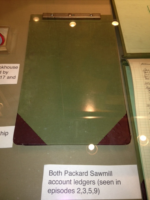 Prop -- Ledger for the Packard Sawmill