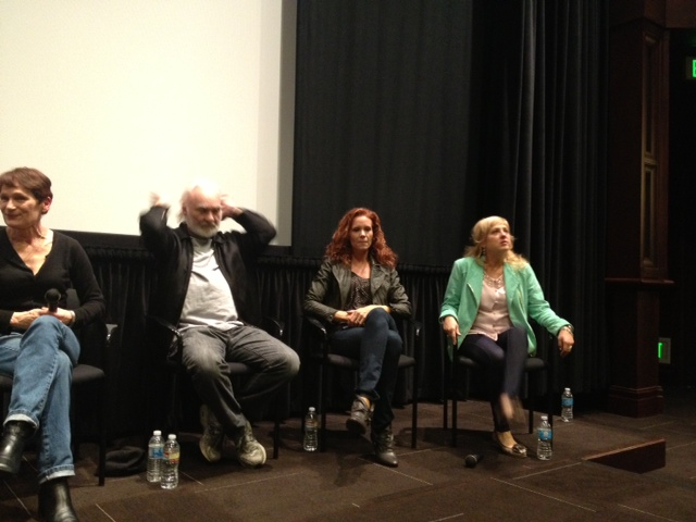 March 24 panel from right to left: Kenneth Welsh, Robyn Lively and Kimmy Robertson.