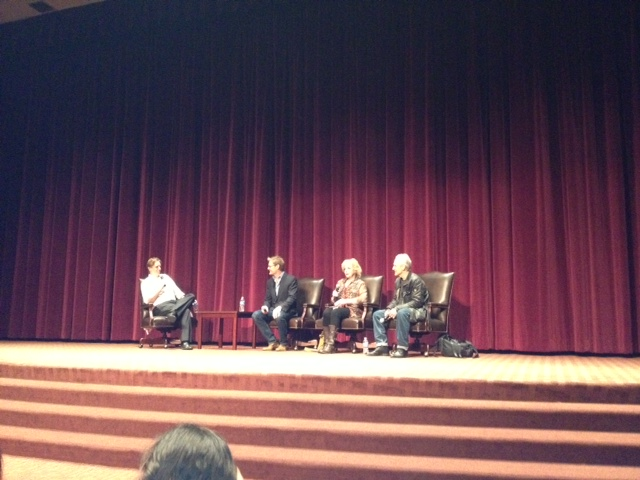 USC Twin Peaks Retrospective -- April 14 panelists.