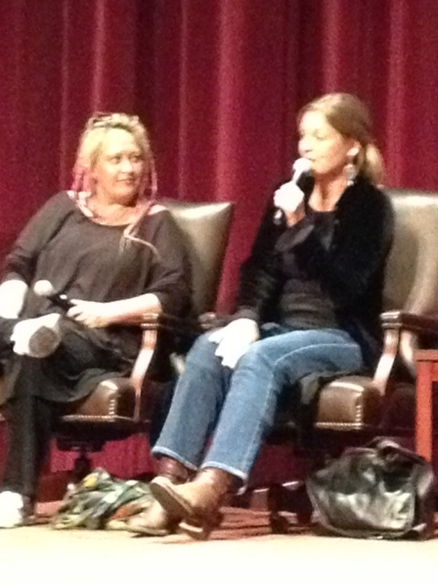 "Jennifer Lynch (Author, The Secret Diary of Laura Palmer) and (Sheryl Lee (Actor, ""Laura Palmer""/""Madeleine Ferguson"")"