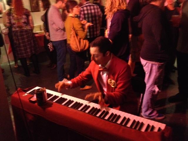 Keyboardist performing Angelo Badalamenti and others