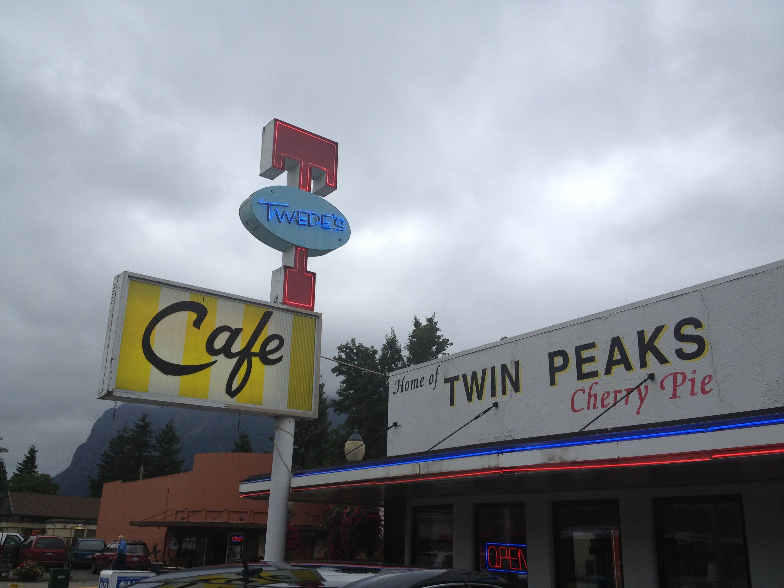 The Double R Diner (AKA Twede's Cafe), North Bend, WA