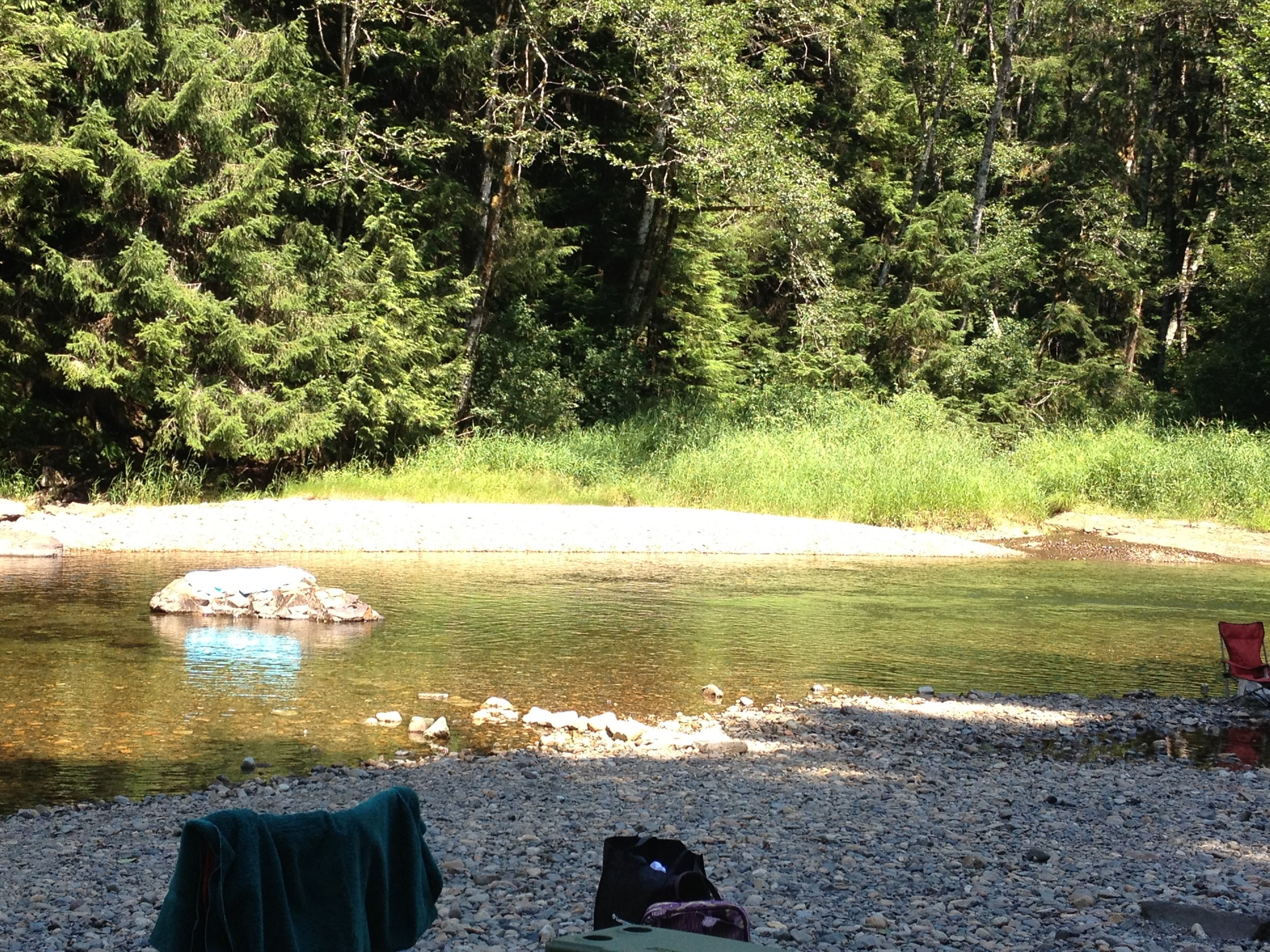 Location on Snoqualmie River where Teresa Banks was floating