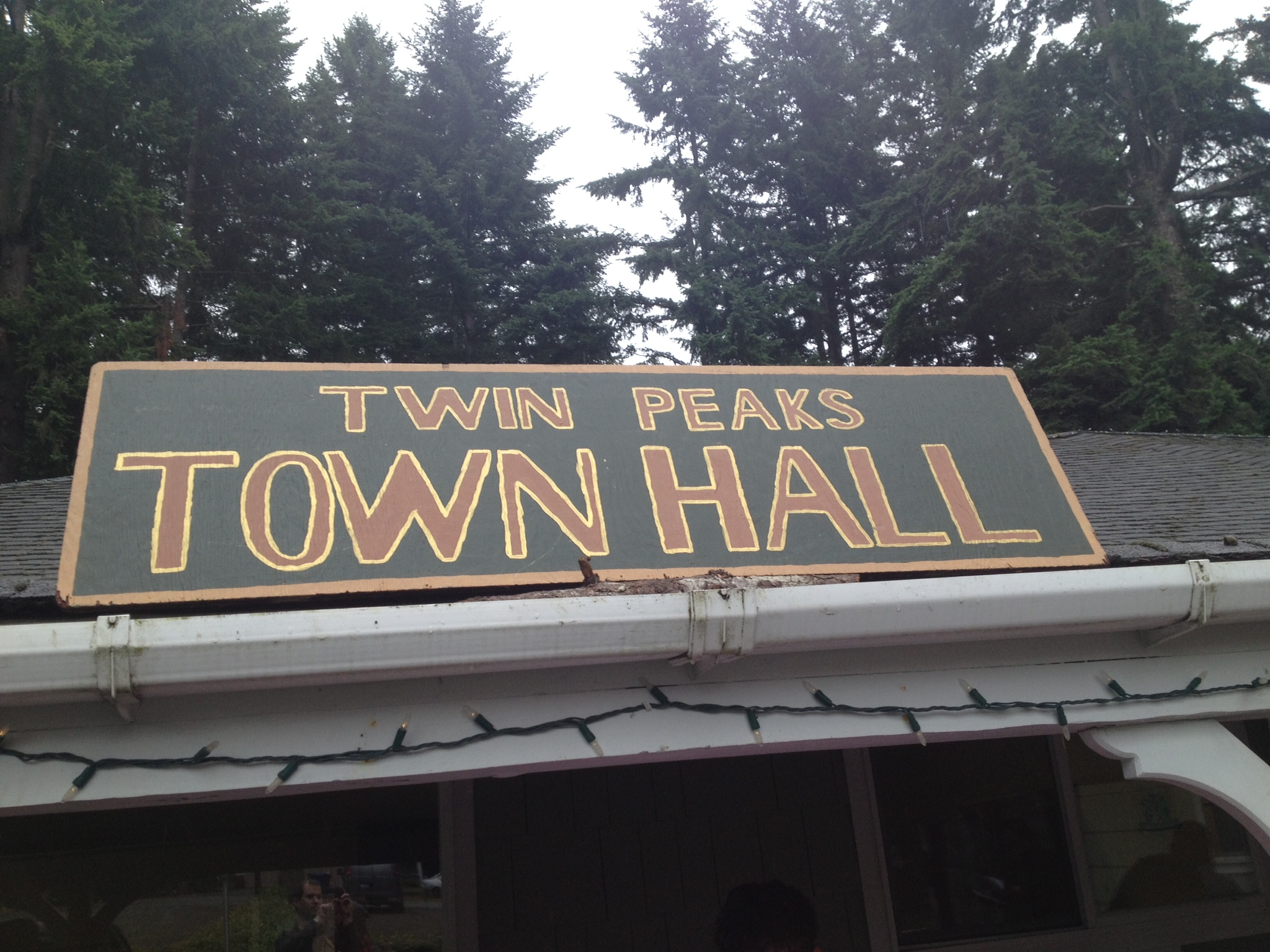 Twin Peaks Town Hall -- home base for the festival.