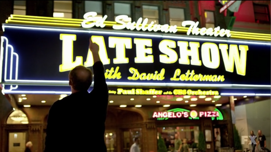 louie late show end thatre