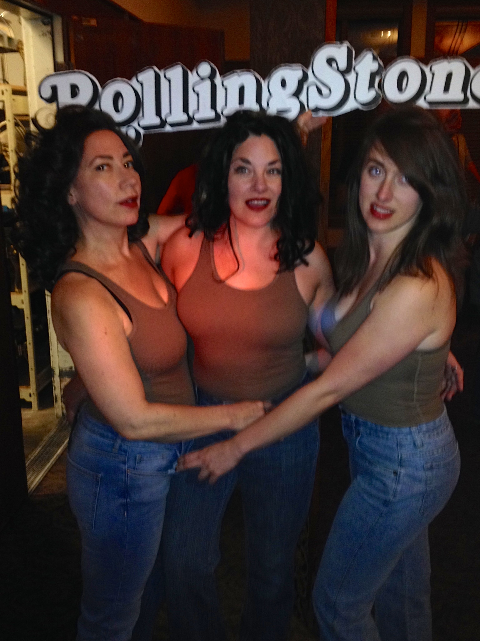 From left to right: Donna Hayward, Audrey Horne and Shelly Johnson
