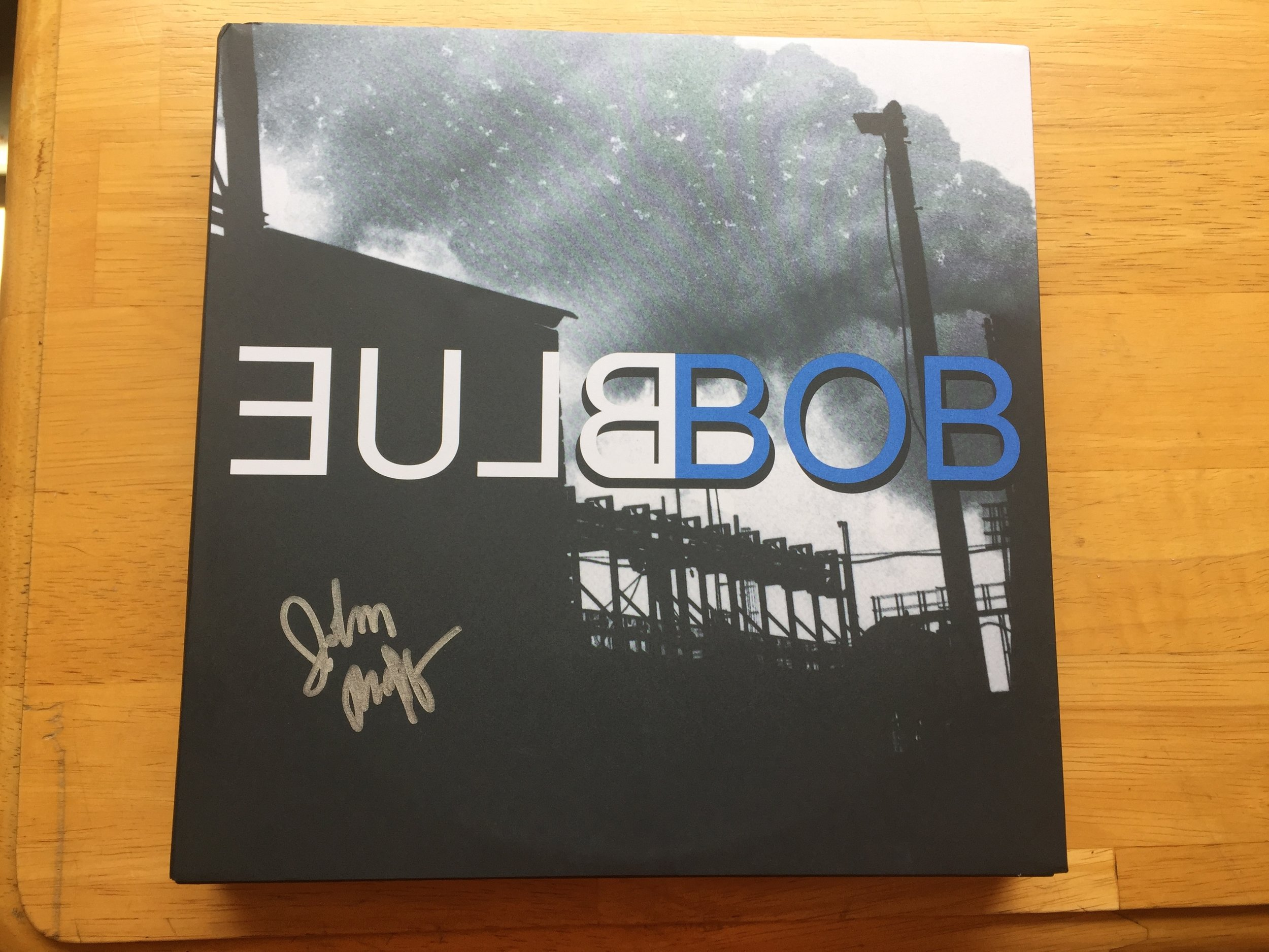 John Thorne is an incredible musician and sound mixer. I'm excited to own this limited edition of Blue Bob.