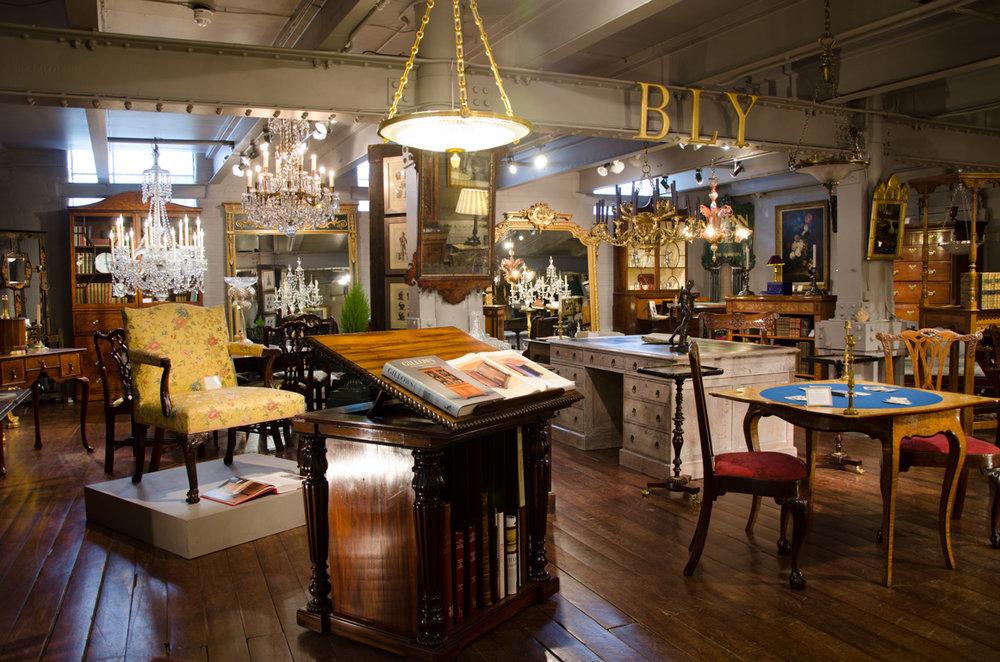 John Bly's 1200sqft 1st floor showroom on the King's Road, London