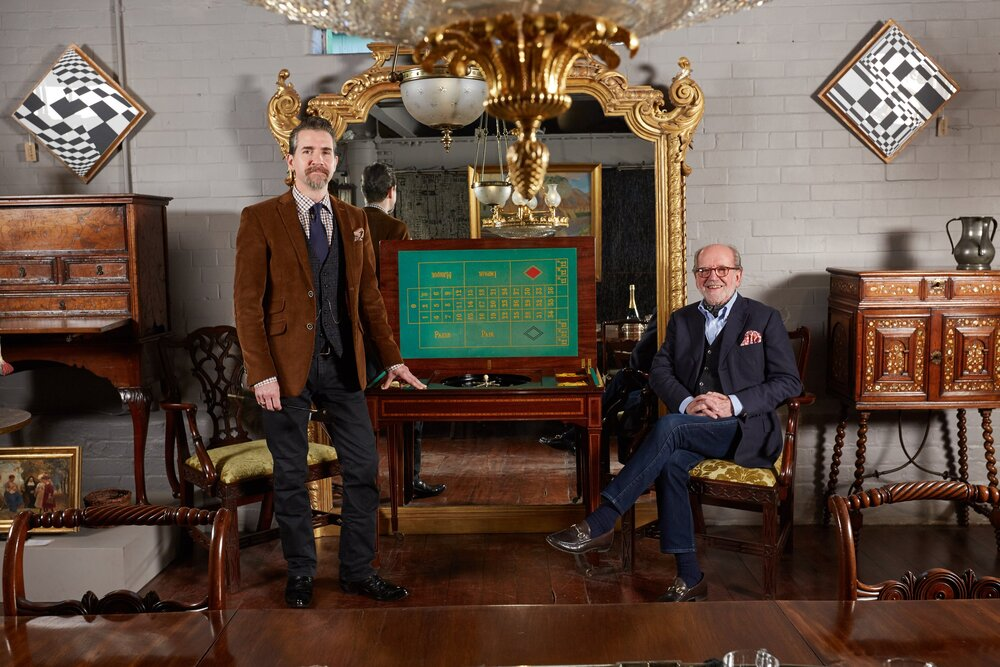 — Five generations of —   fine antique dealing    Meet the family