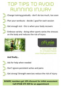 Running Injury Handout