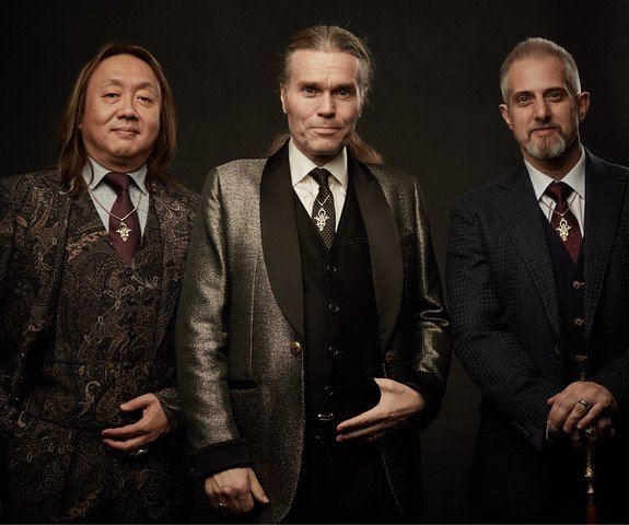 lineage holders, the third order, from left to right:  Ipsissimus Hideto REI Nakagome ,  Ipsissimus Gudni GED Gudnason, Founder of the Modern Mystery School ,  Ipsissimus Dave THOR Lanyon