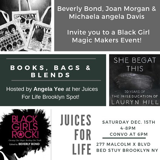 Poppin' in Bed Stuy THIS Saturday 📚 👜🥤🖤