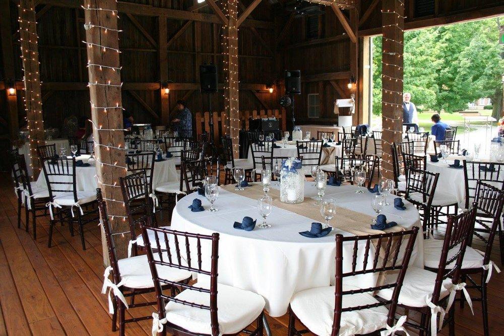 Rustic Barn Wedding and Event Facility in Kokomo, Indiana