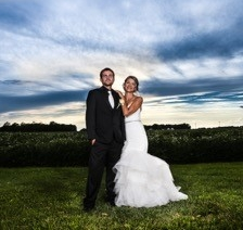 Wedding Photography at the Legacy Barn, Kokomo, Indiana event location