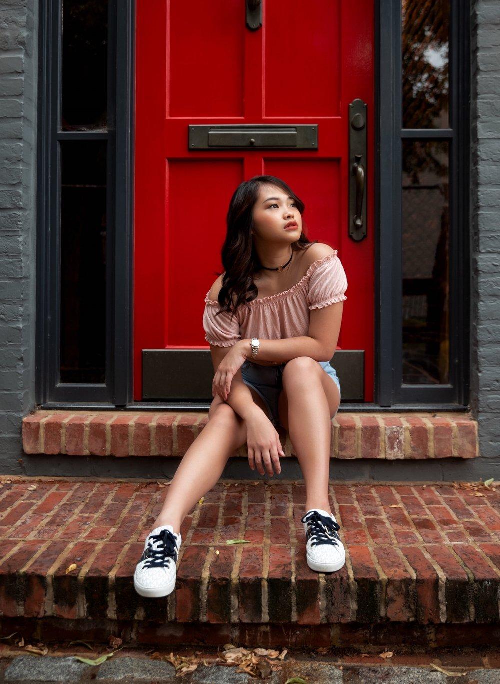 Photo by  Lindsey Stoebner   Model:  Sisca Rahardjo