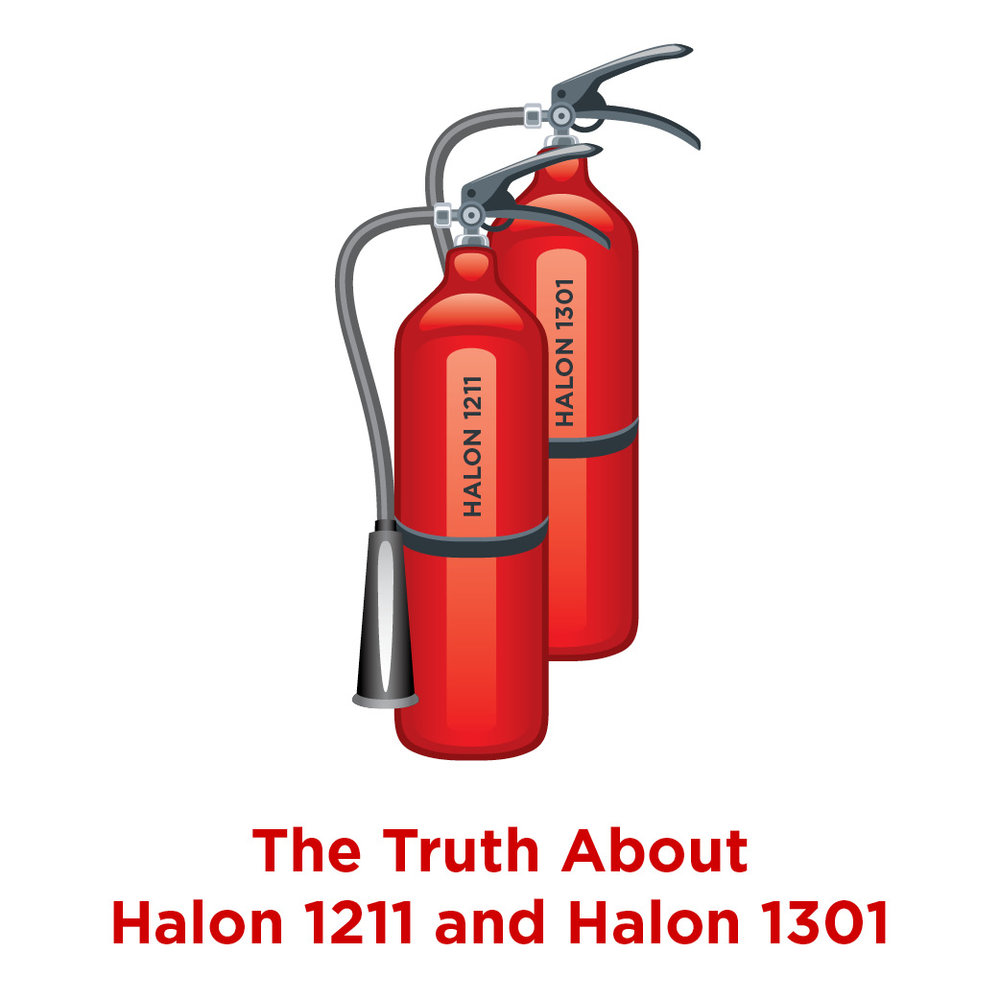Truth About Halon 1211 and 1301