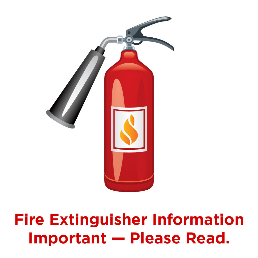Fire Extinguisher Info
