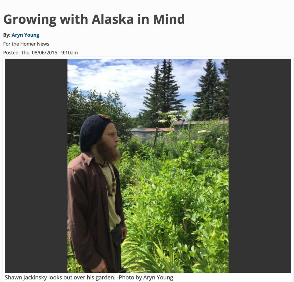 Growing with Alaska In Mind - The Homer News