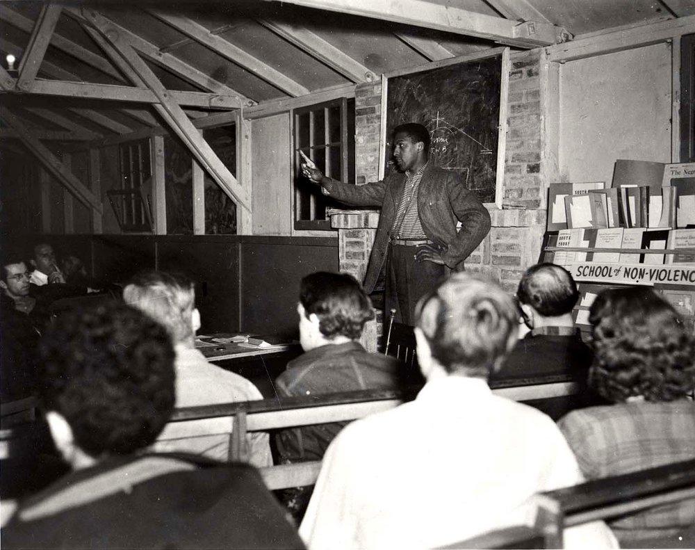 Bayard Rustin, 1941