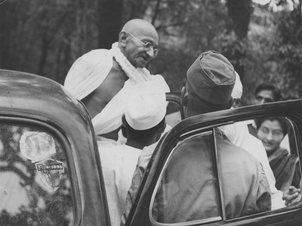 Mohandas Gandhi, 1946