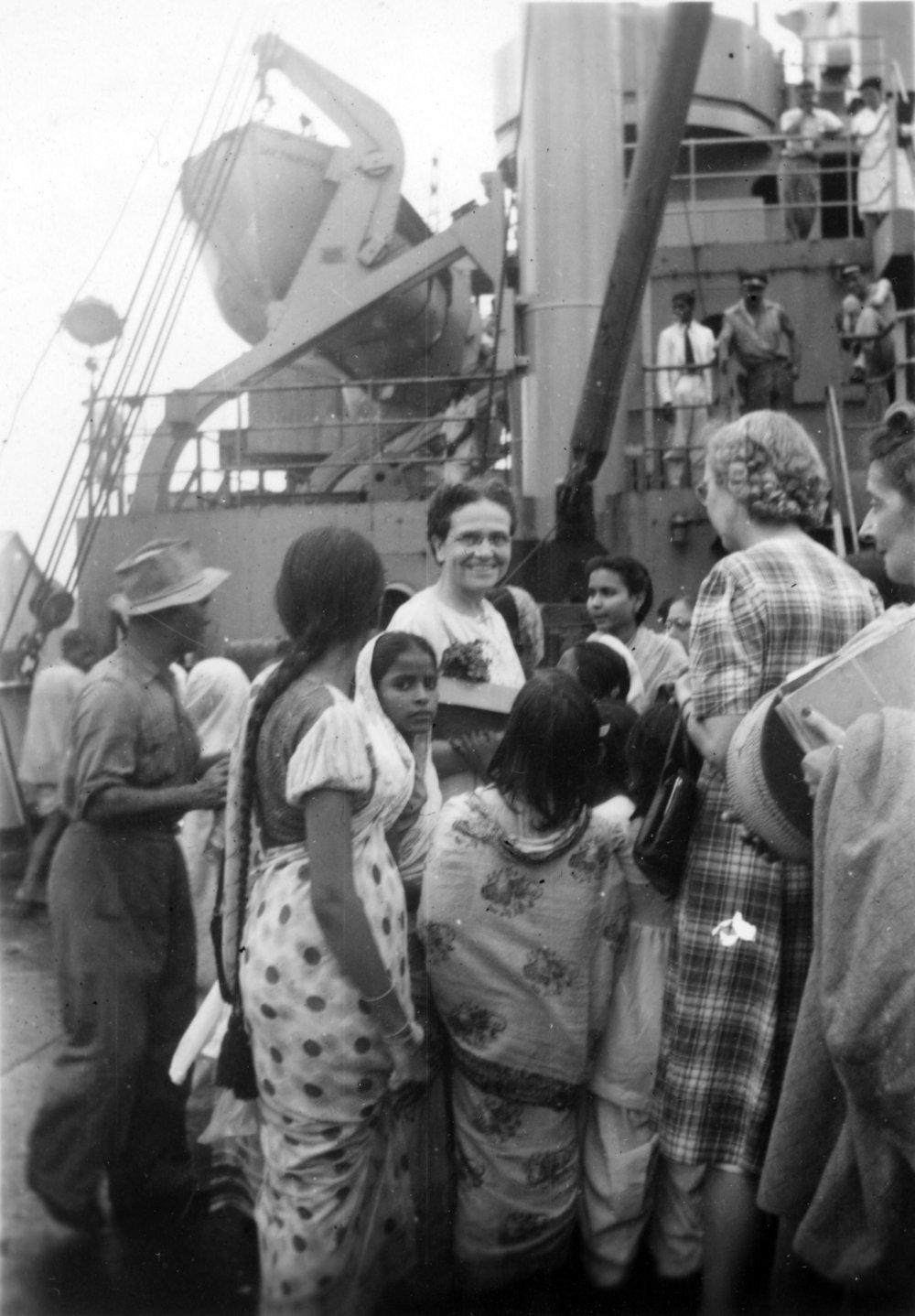 Blanche Nelson, 1948
