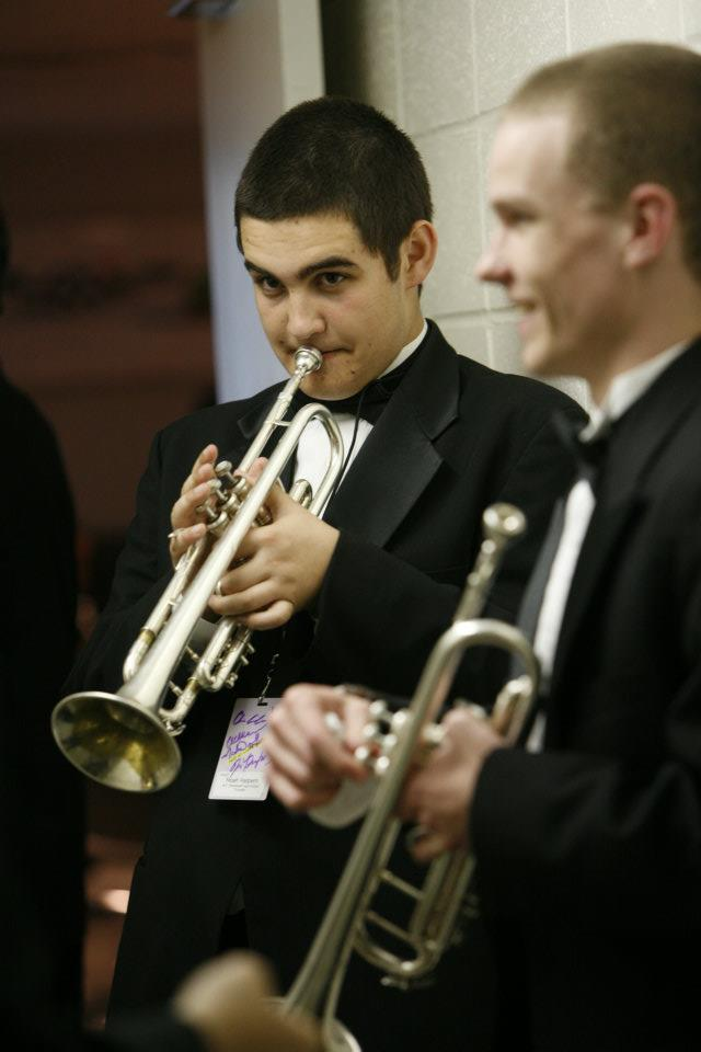 - Noah as part of the Essentially Ellington High School Jazz Competition in 2012.