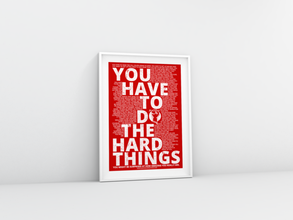 "Motivational 8.5x11"" Posters"