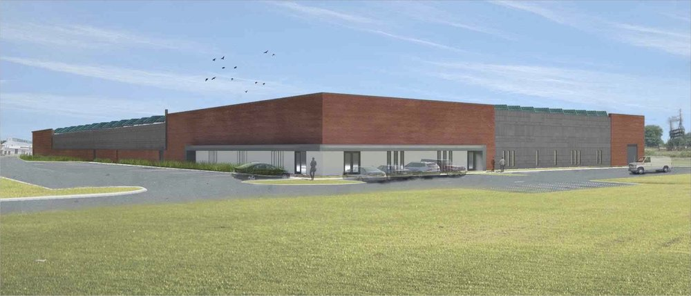 Architectural rendering of our proposed facility in Chester.