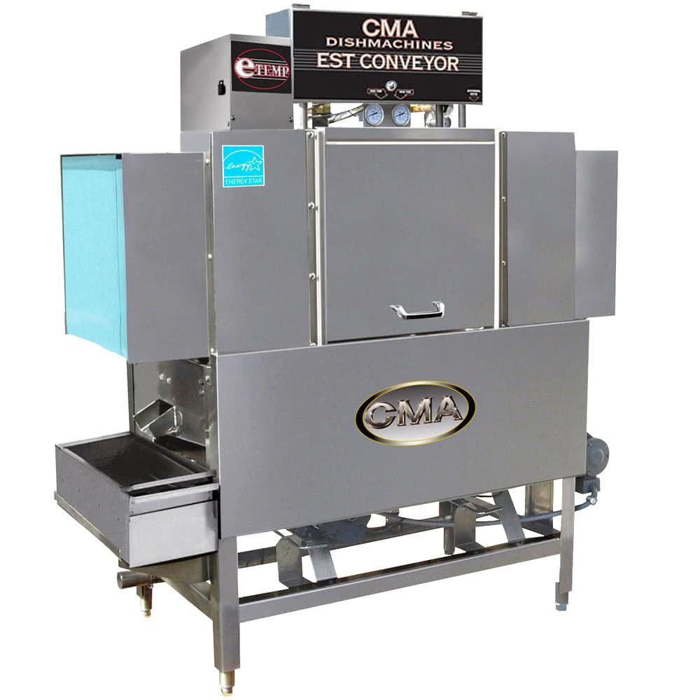CMA Dishmachines EST-44 High Temperature Conveyor Dishwasher