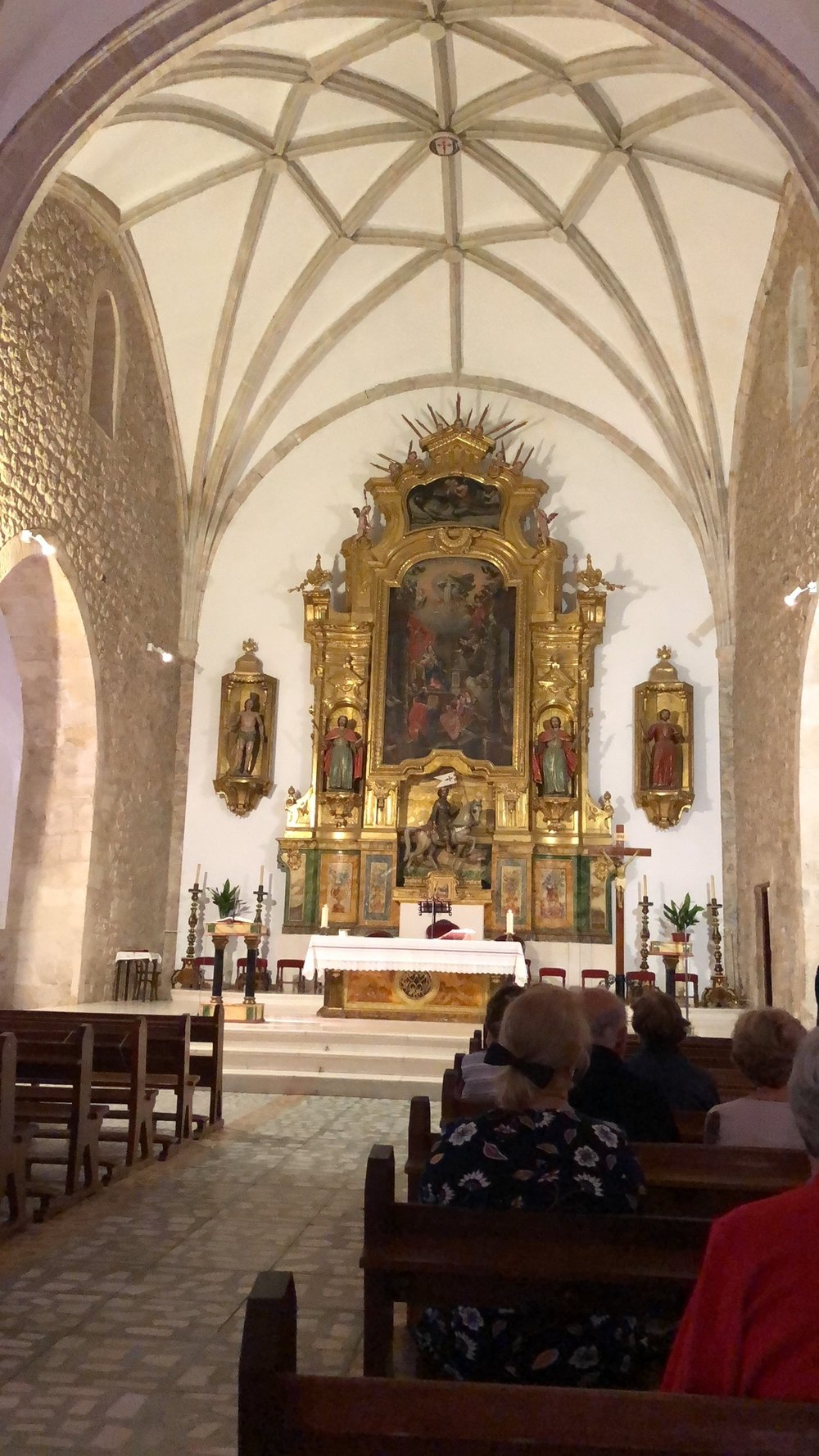 THE CHURCH OF SANTIAGO AND THE SWORD